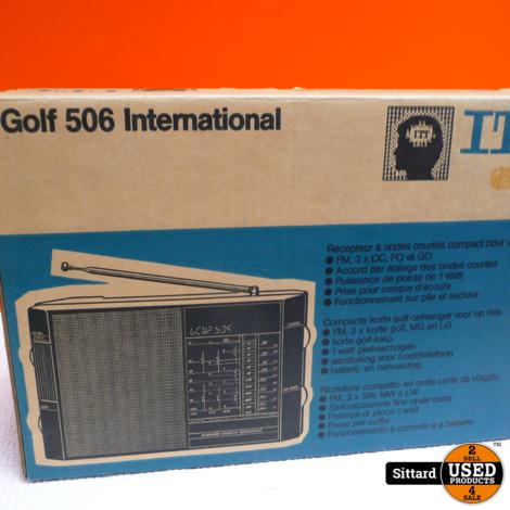 ITT Golf 506 compacte korte gold-ontvanger