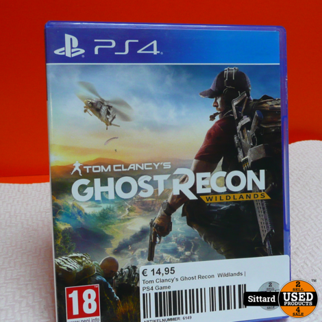 Tom Clancy's Ghost Recon  Wildlands | PS4 Game
