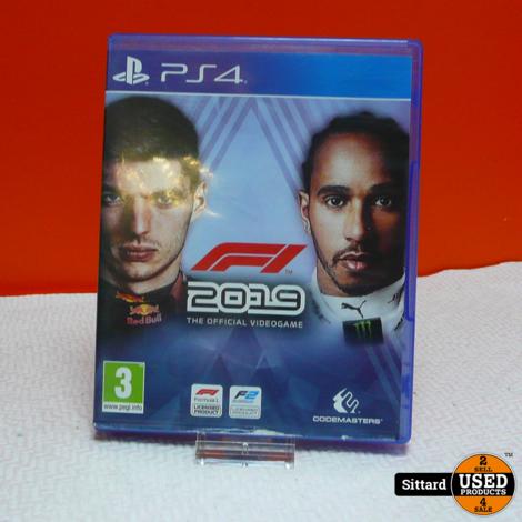 Playstation 4 Game - F1 2019   Elders Gezien voor 24,98 Euro