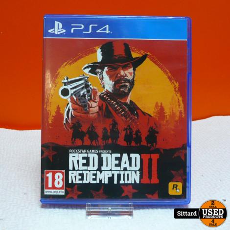 Playstation 4 Game - Red Dead Redemption II | Elders Gezien voor 34,98 Euro