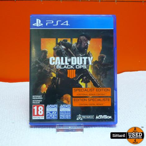 Playstation 4 Game - Call of Duty Black Ops 4   Elders Gezien voor 19,98 Euro