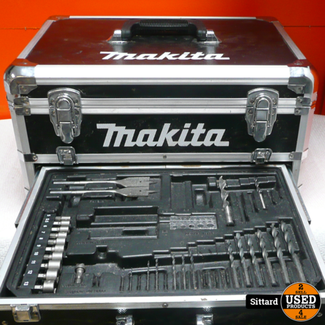 Makita df457d Accuboormachine + 2 Accu's + lader + Koffer | Nwpr. 146,- Euro