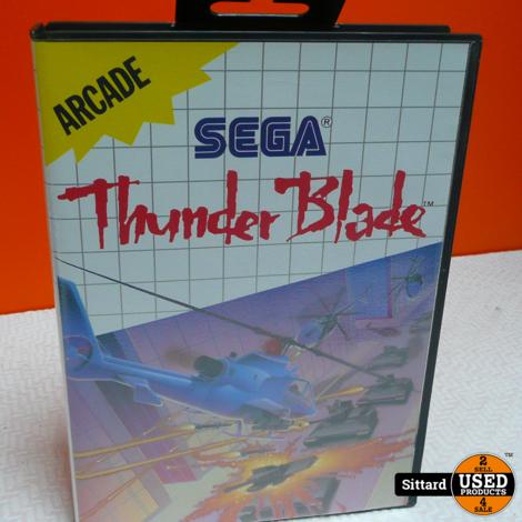 Thunder Blade - SEGA Game