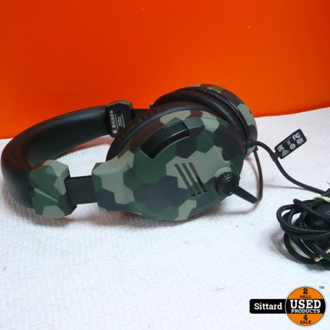 BigBen Playstation 4 headset - Camouflage