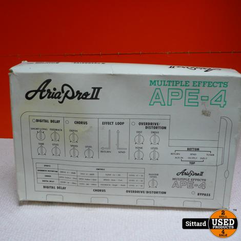 Aria Pro II Multiple Effect APE-4