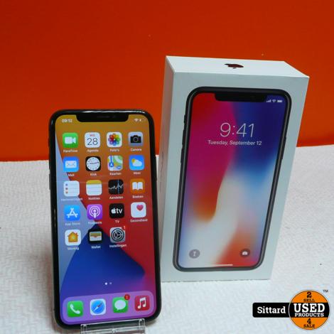 Apple iPhone X 64GB, accu 85%