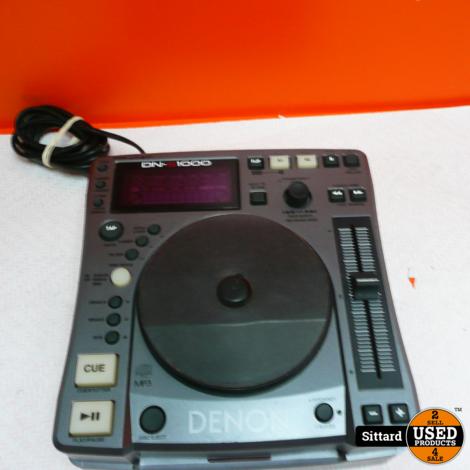 Denon DN-S1000 professionele CD/MP3-speler   elders gezien voor 589 euro