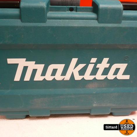 Makita accuboor - DF347D/ compleet met doos en 2 accu's van Thakita van 14.4 v en 1.5 Ah