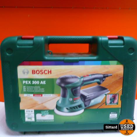 Bosch Pex 300 AE Schuurmachine - 270 w