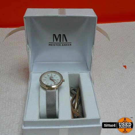 Meister Anker Set dameshorloge + armband | nwpr 120 euro