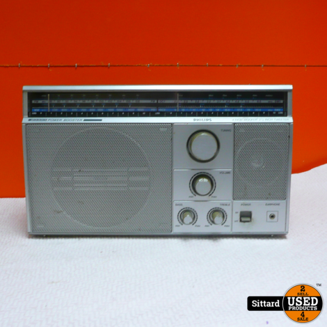 Philips D2603,  4 Band Receiver Two Speaker system