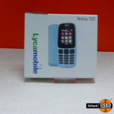 Nokia 105 - Nieuw! + 5 Euro Beltegoed + 500 belminuten + 100 SMS
