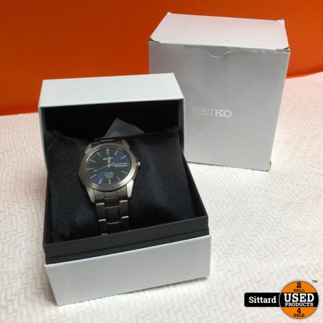 SEIKO titanium herenhorloge  722220 | met garantiebon oktober 2020 | nwpr 230 euro