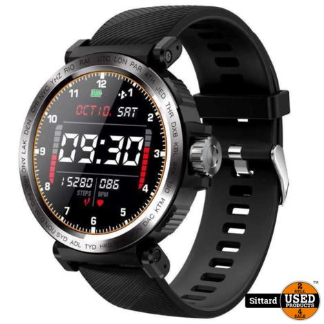 SmartSense IP68  smartwatch, NIEUW | elders 65 euro