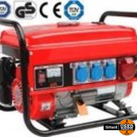 Y&D Premium line benzine generator, 6,5 pk, NIEUW in doos