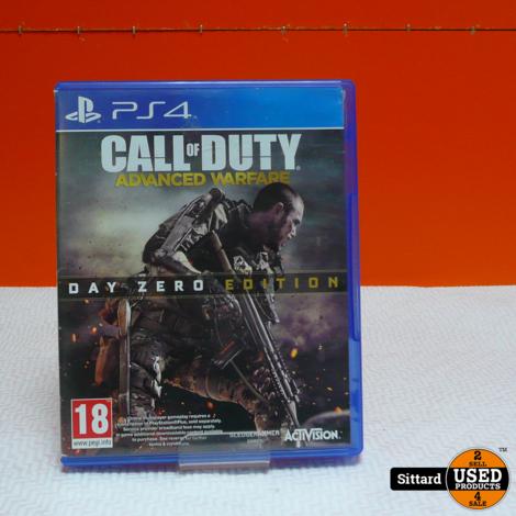 PS4- Call of Duty, advanced warfare