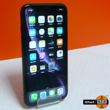 Apple iPhone XR, zwart/grijs, 128 GB, accu 99%, nwpr. 629 Euro