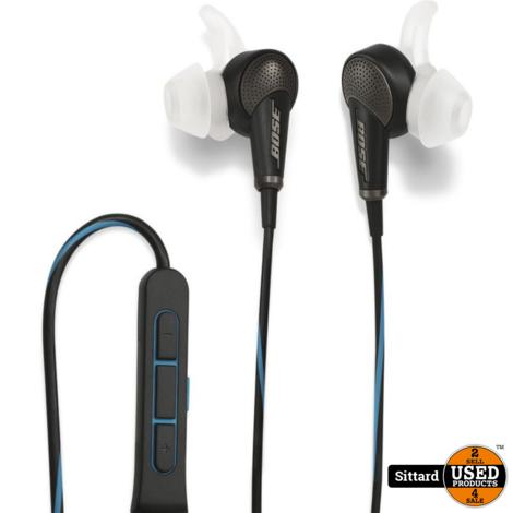Bose QuietComfort 20 Apple - In-ear oordopjes met Noise Cancelling  - Zwart, nieuw in doos