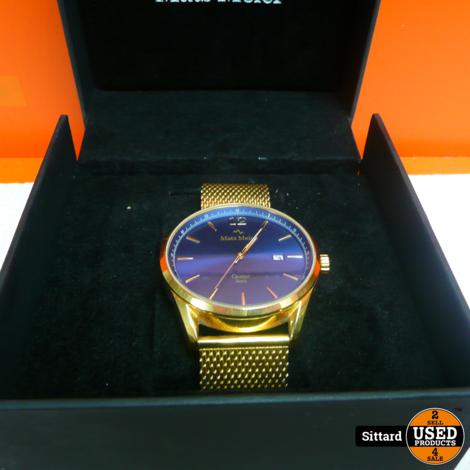 Mats Meier Horloge , met doosje , nwpr. 50 Euro