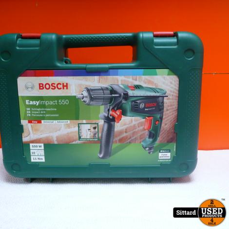 BOSCH Easy Impact 550 Klopboormachine , compleet met doos