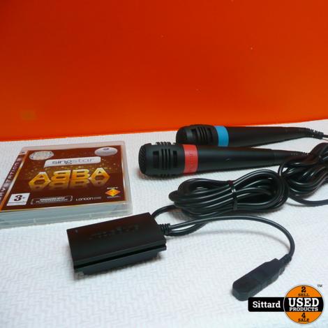 ABBA Singstar voor Playstation 3, compleet en bijna nieuw