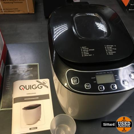 QUIGG BM4-N broodbakmachine, bijna nieuw | nwpr 60 euro