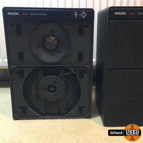 Philips 22RH544 3-weg MFB actieve speaker, hersteld en opgefrist