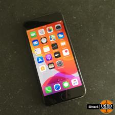 iPhone 7, zwart, 32GB in zeer goede staat, accu 68%