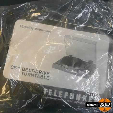 Telefunken CS1 stereo platenspeler, in goede staat, mét garantie