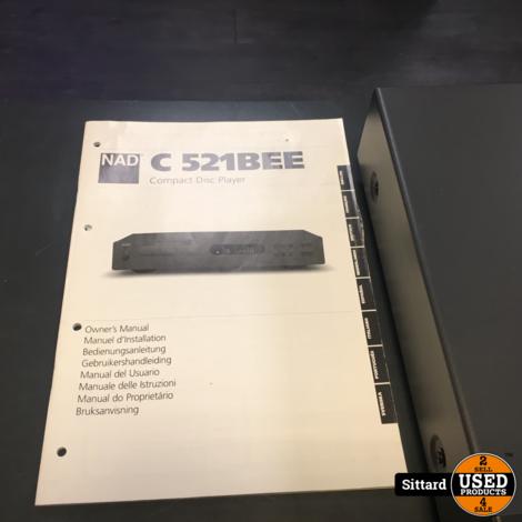 NAD C521BEE topklasse CD-speler