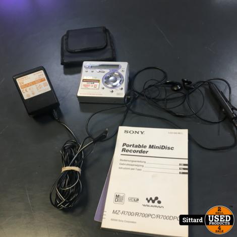 Sony MZ-R700PC  portable minidisc recorder