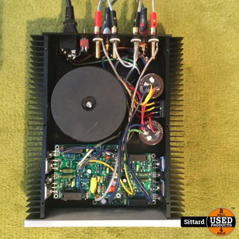 Replica QUAD 405 mk2 stereo eindversterker 2x 100 Watt, NIEUW gebouwd in design behuizing