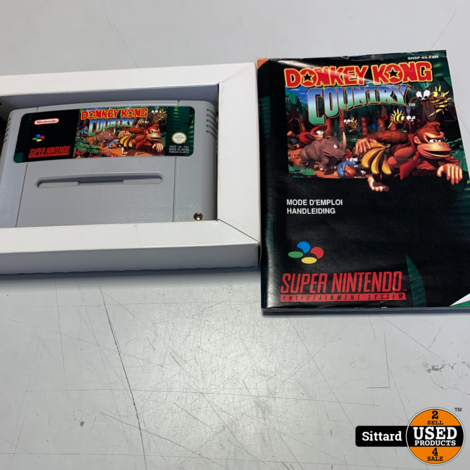 Donkey Kong Country - SNES GAME , Elders voor 79.99 Euro