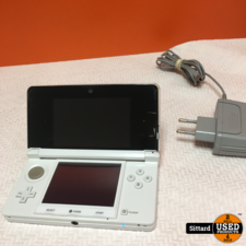 Nintendo 3ds Console | wit | incl. lader