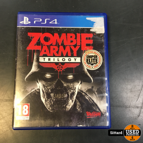Zombie Army Trilogy | PS4 game