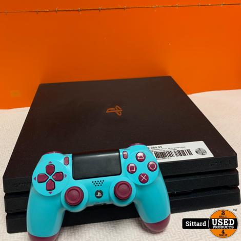 Playstation 4 Pro 1 Tb in goede staat, met garantie en 1 controller