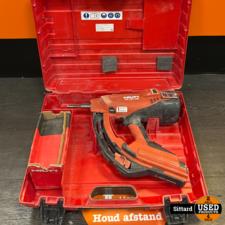 Hilti GX 120 Gashamer incl. koffer + gaspatroon | Elders gezien voor 699,- euro