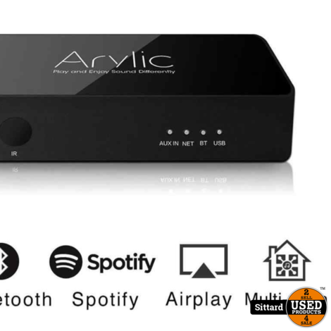 Arylic S10 Wifi + Bluetooth Stereo Wireless Preamplifier met MultiRoom/Multizone Support