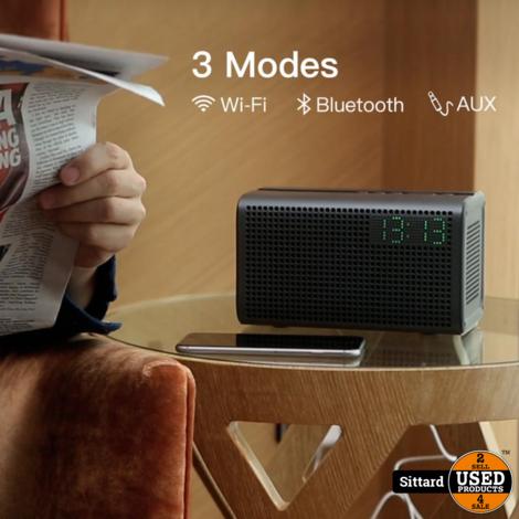 GGMM E3 Smart Streaming Speaker met Alexa Voice Control | NIEUW | Gray