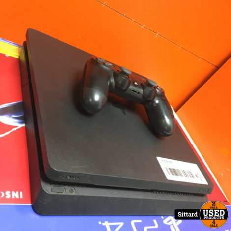 Playstation 4 slim, 1 TB, in nette staat, mét doos en garantie
