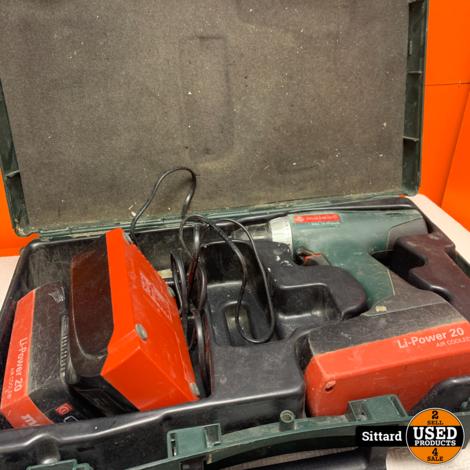 Metabo BSZ18 Impuls boormachine , met koffer