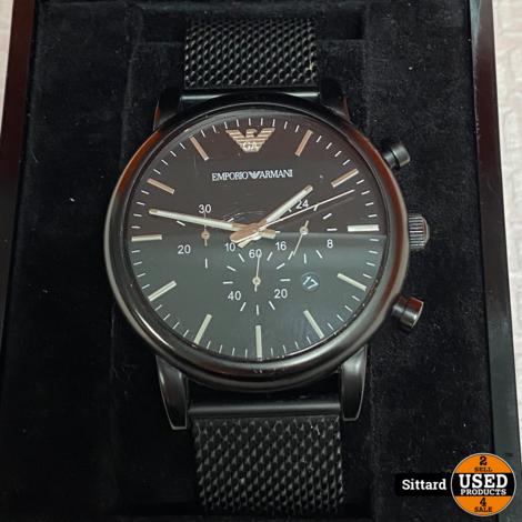 Armani horloge AR-1968   Nwpr. 169,- Euro