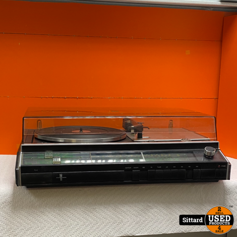 vintage Philips 852 radio / platenspeler, geserviced en in prima staat