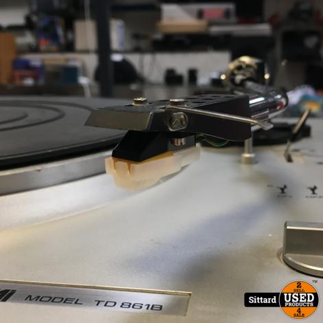 Tensai TD 8618 platenspeler, in goede staat met nieuw element/naald