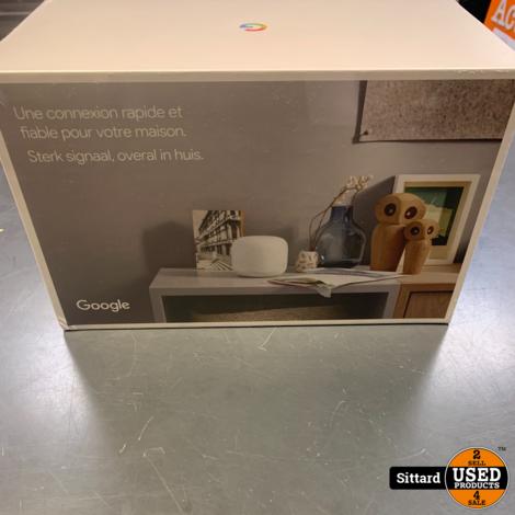 Google Nest WiFi router + WiFi point nieuw in seal , nwpr. 249,- Euro