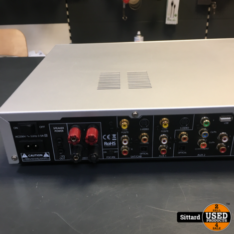 FINAL FVSS201 2x 75 Watt receiver met HDMi (speelt geen dvd / cd's), met remote
