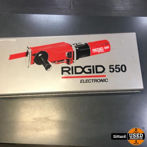 RIDGID 550-1 electronic heavy duty reciprozaag, gebruikt maar in prima staat