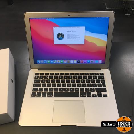 Apple Macbook Air 13 inch, mid 2017, Intel i5, 8 / 128 GB in TOPstaat