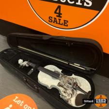 Thomann Black Rose Violin viool Set 4/4   Nwpr. 159,- Euro