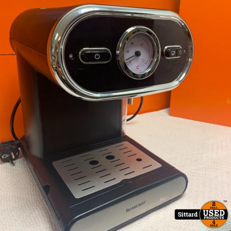 Silvercrest koffiezetapparaat , Elders aangeboden voor 69.99 Euro